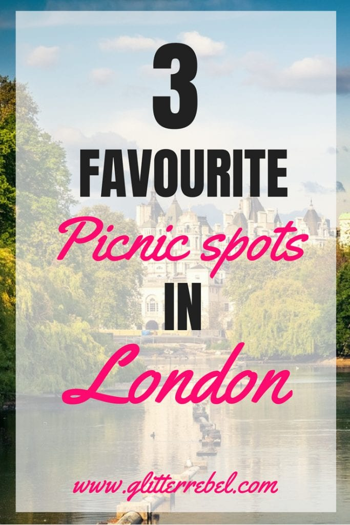 3 favourite picnic spots in London