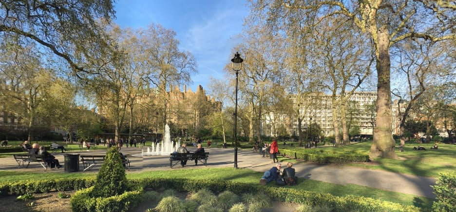 5 best picnic places london glitterrebel russel square