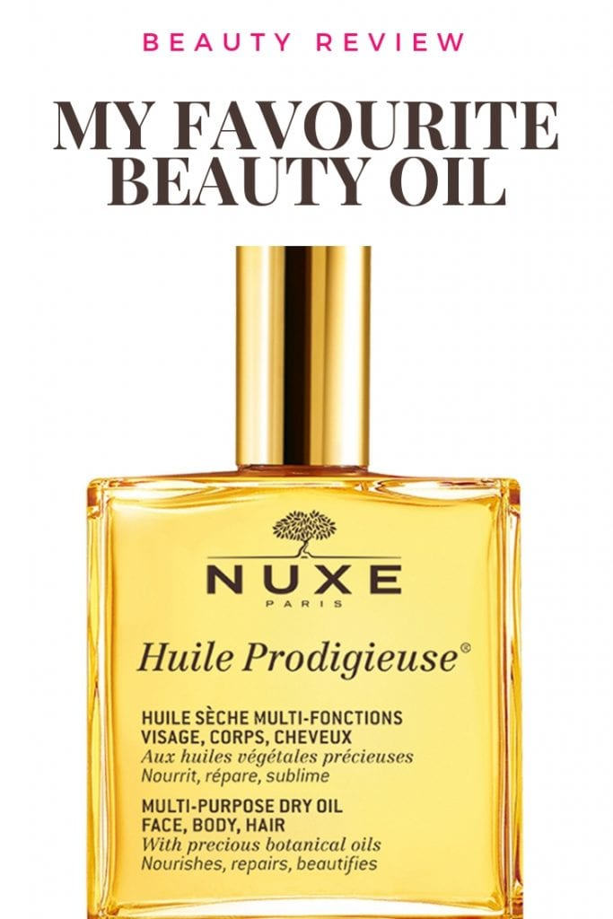 nuxe huile prodigieuse favourite beauty oil