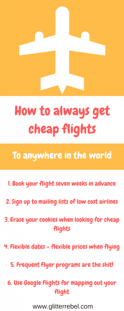 How to always get cheap flights