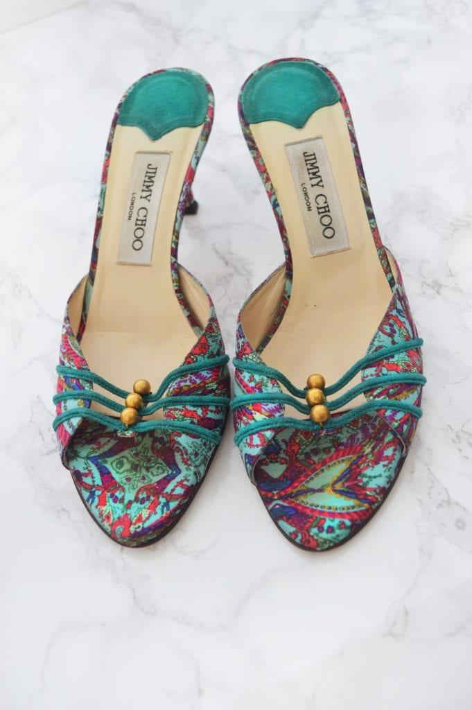 288726248564 For Sale   Jimmy Choo Kitten Heels – Glitter Rebel