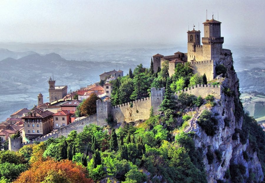 san marino least visited countries in the world