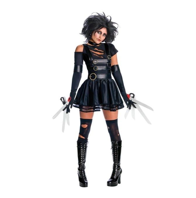 edward scissorhands female costume halloween 2017