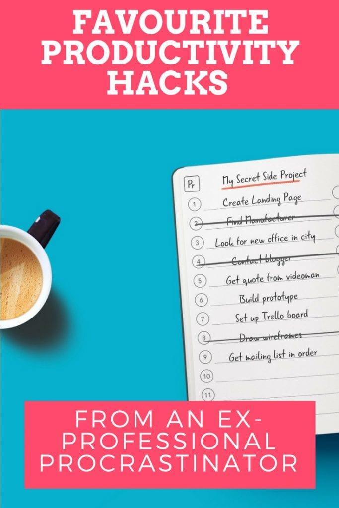 Favourite productivity hacks
