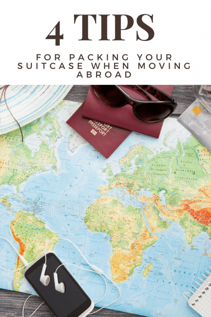 4 tips on packing your suitcase when moving abroad