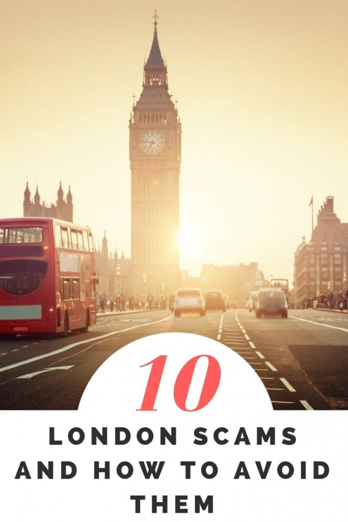 10 London scams and how to avoid them