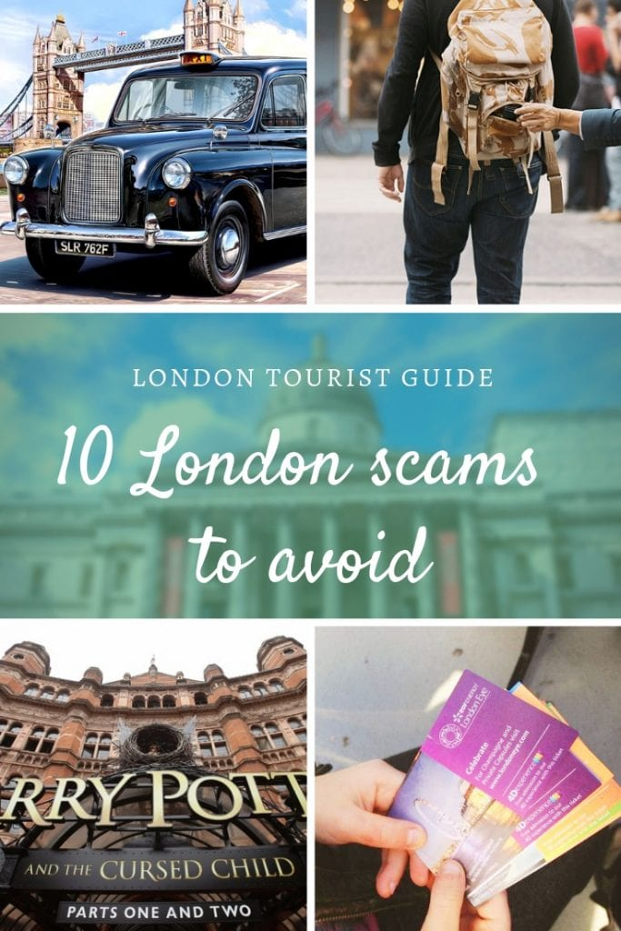 10 London scams to avoid