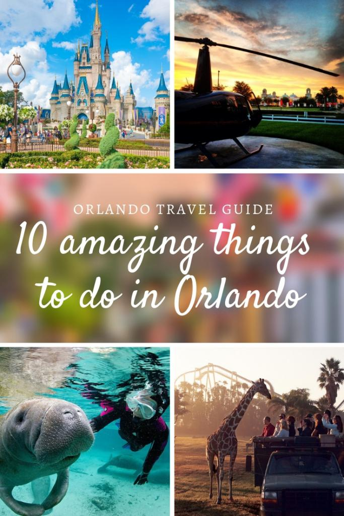 10 amazing things to do in Orlando