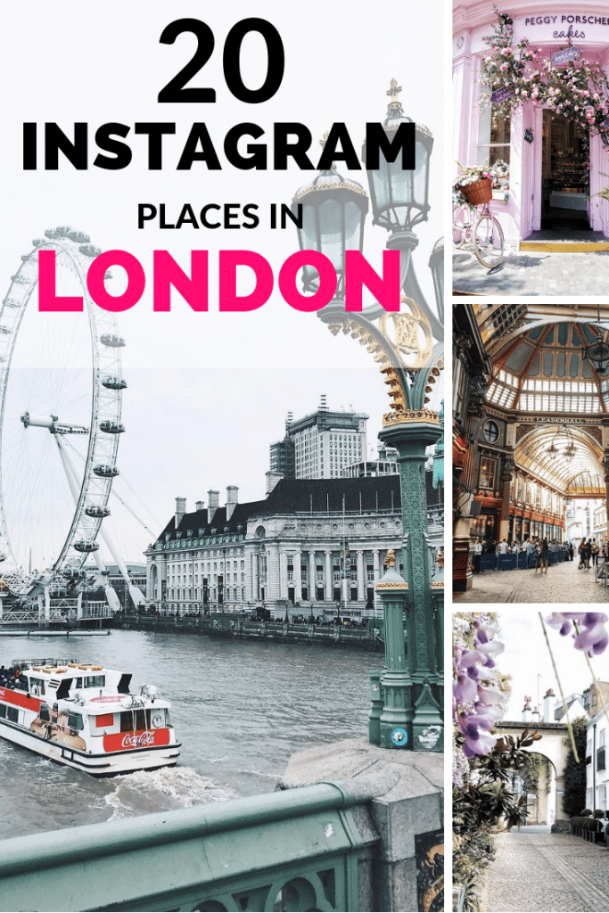 20 instagram places in London