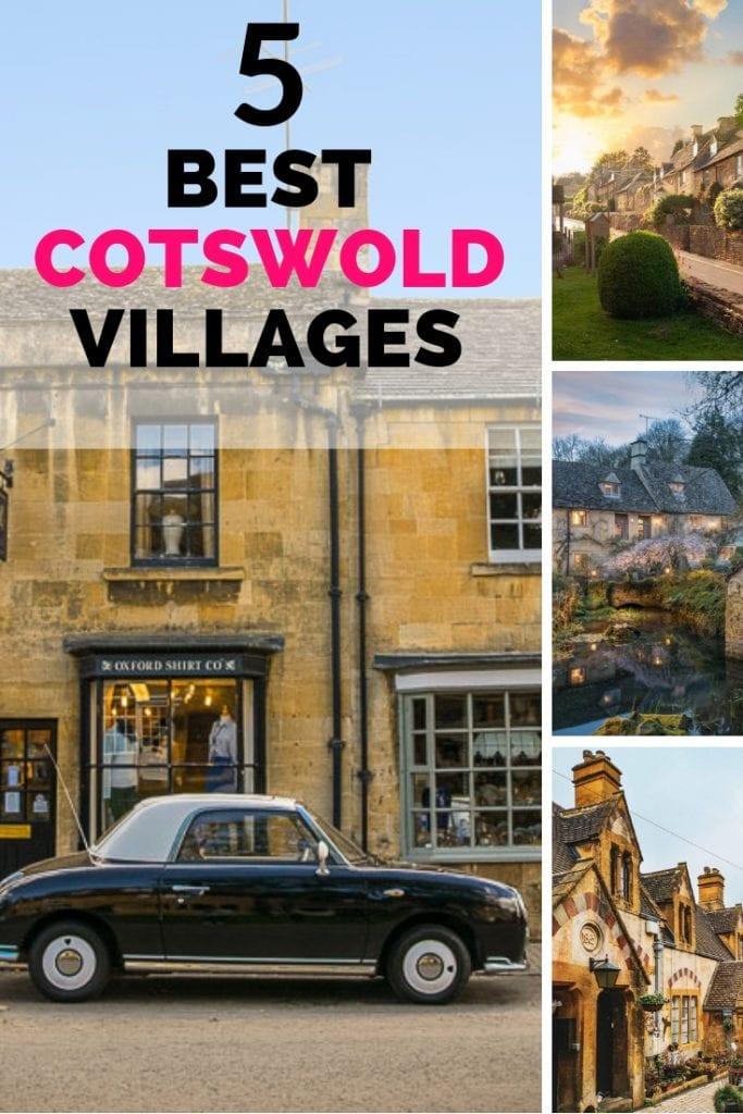 5 best cotswold villages