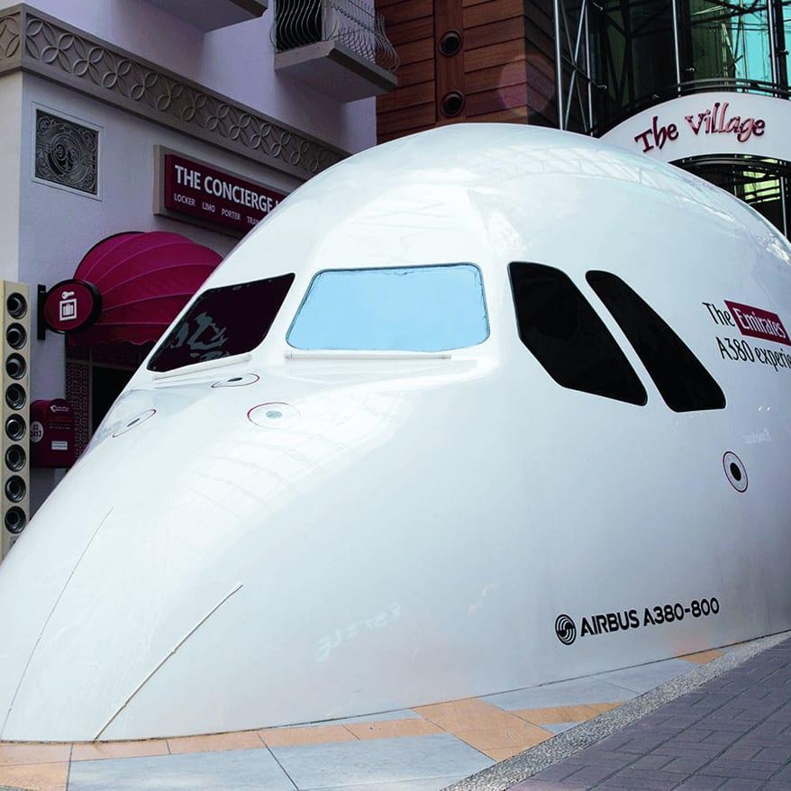 A380 simulator what to do dubai mall bucket list