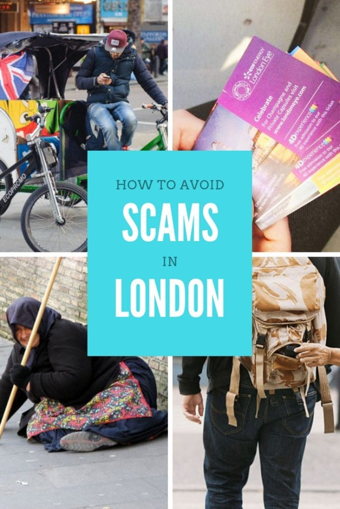 How to avoid scams in London