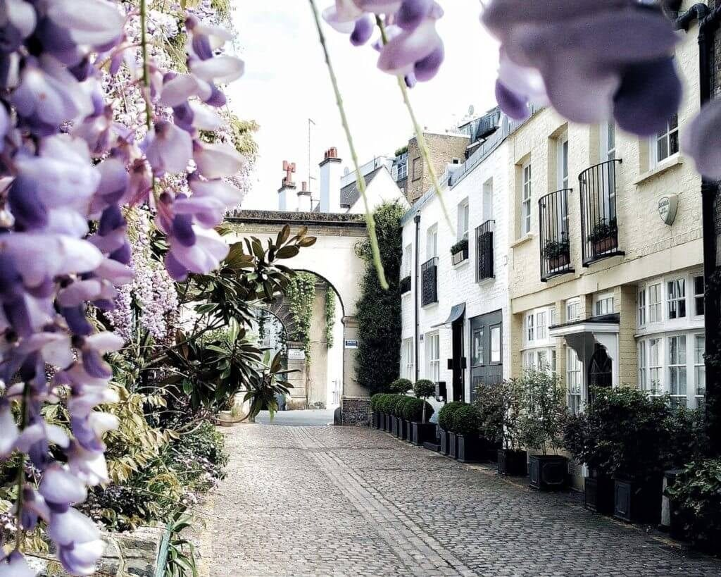 Kynance Mews instagram london best places