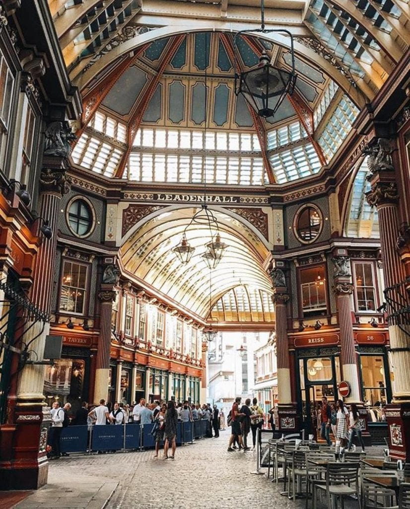 Leadenhall Market instagram london top places