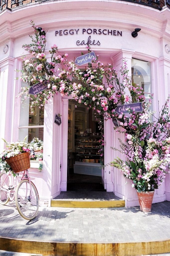Peggy Porschen london instagram top places
