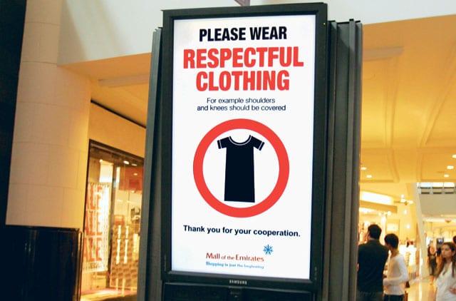 dubai tourist tips dress code in dubai women men girls boys