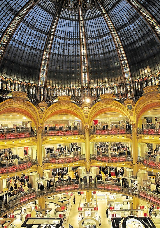 galeries lafayette paris bucket list to do-Recovered