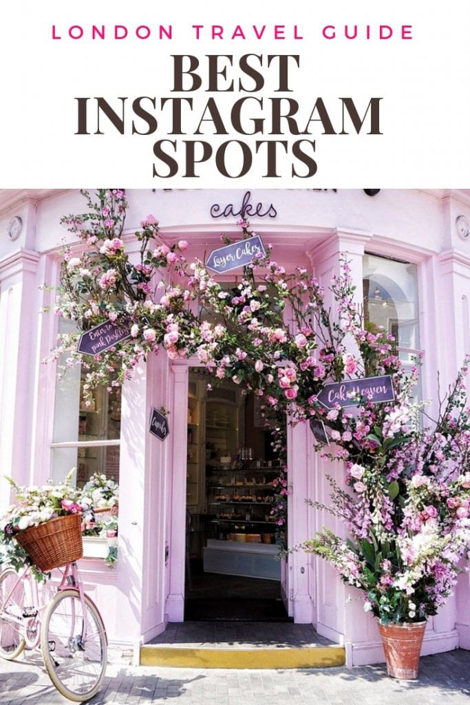 london travel guide best instagram spots