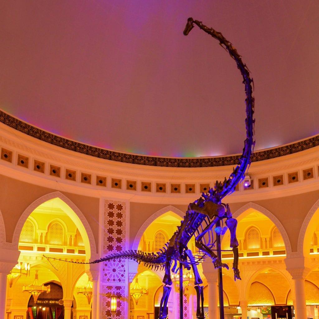 real dinosaur what to do dubai mall bucket list