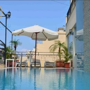 swimming pool beirut airbnb hostel hotel cheap stay lebanon