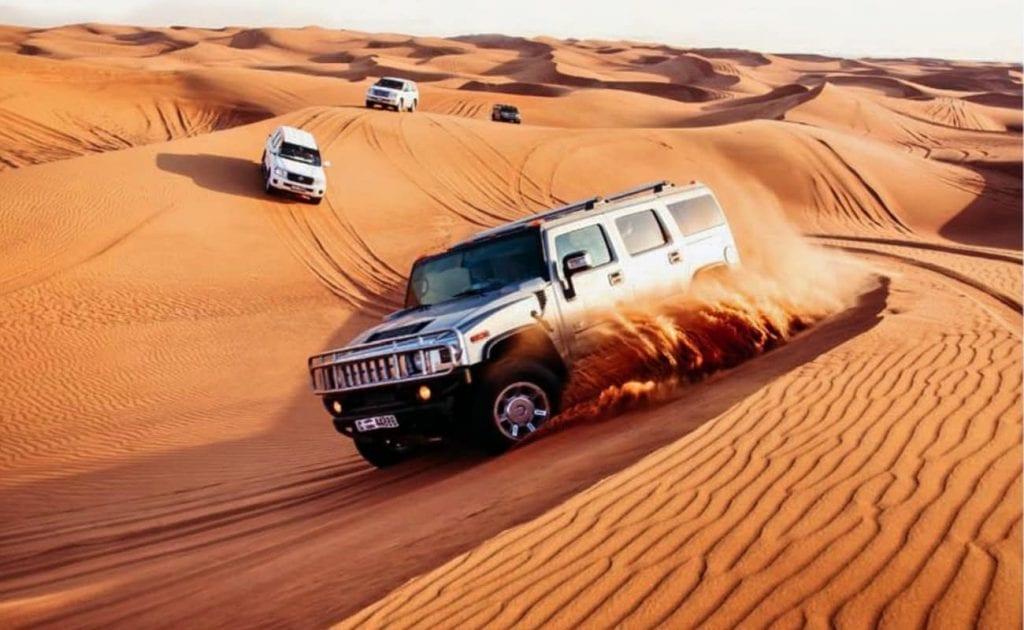 tip dubai desert safari groupon