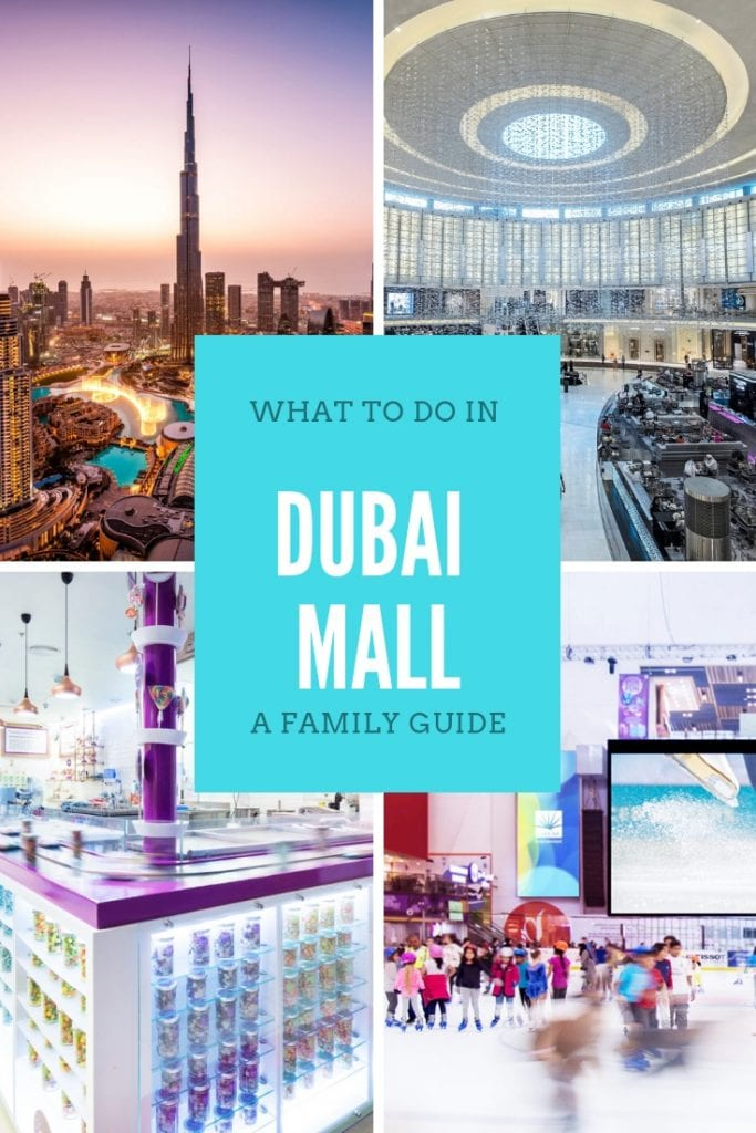what to do in dubai mall a family guide