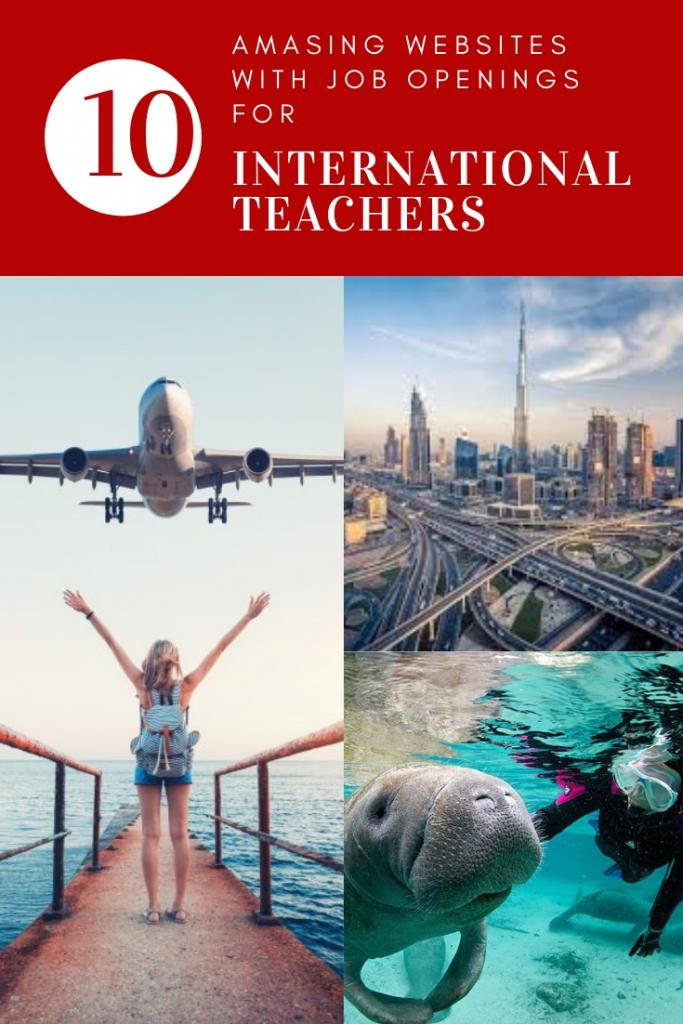 10 websites with job openings for international teachers