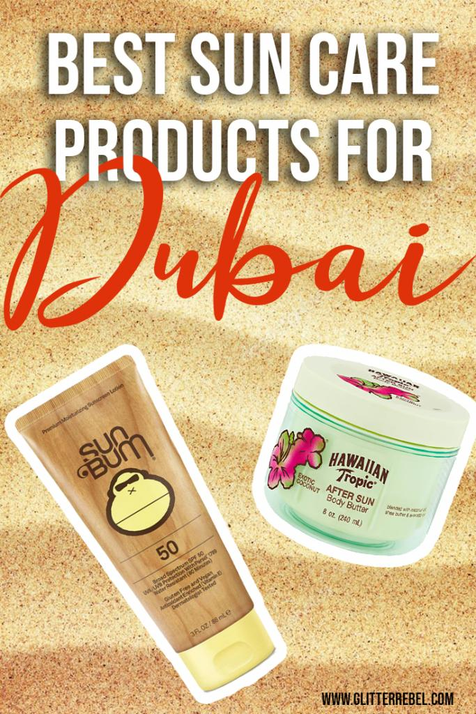 Best suncare products for dubai