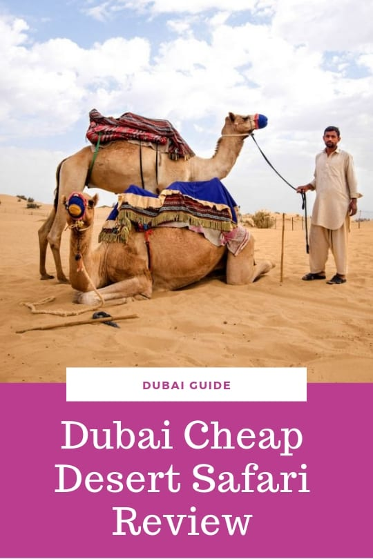 Dubai cheap desert safari review