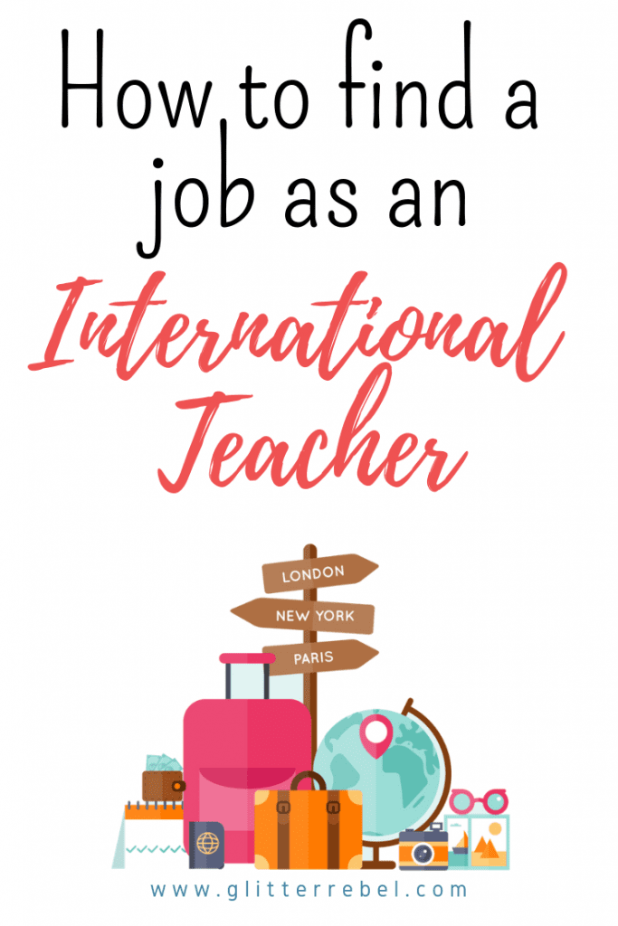 How to find a job as an international teacher
