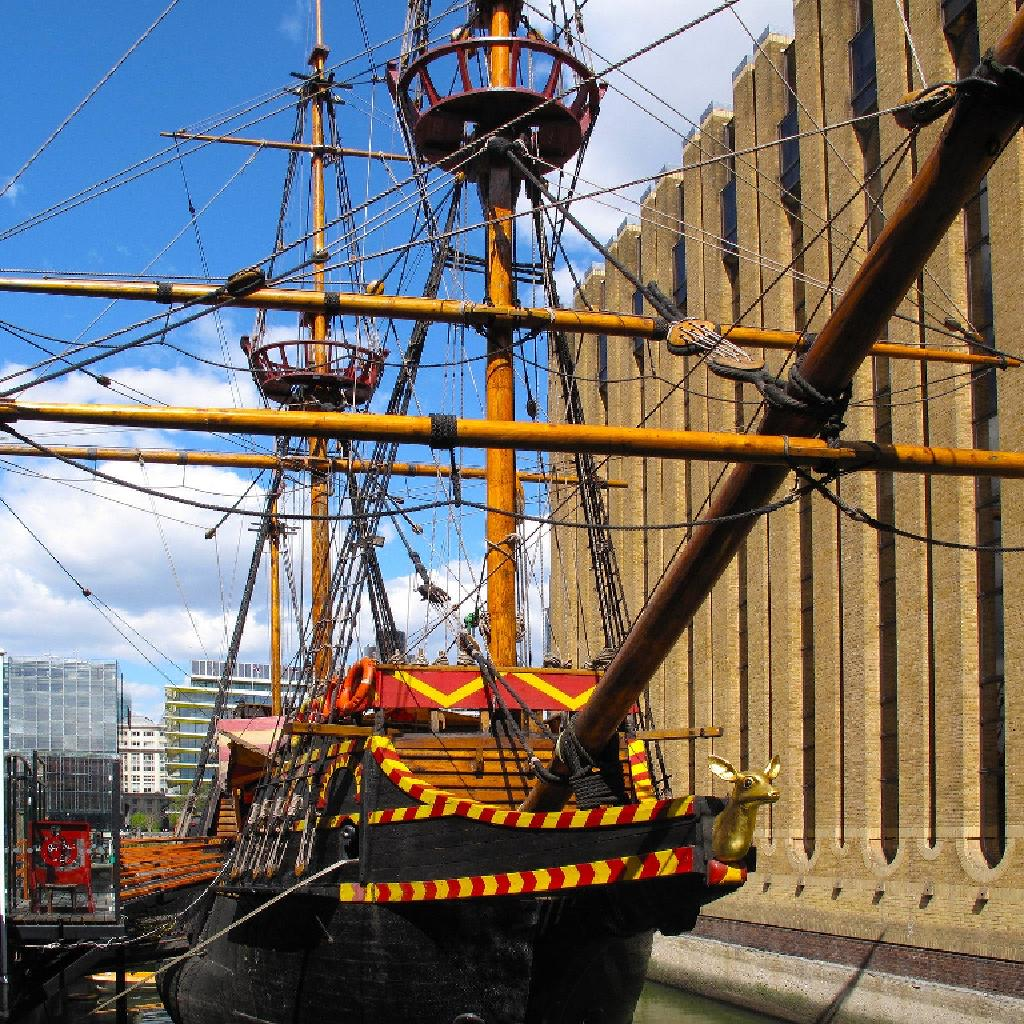 golden hind london what to do