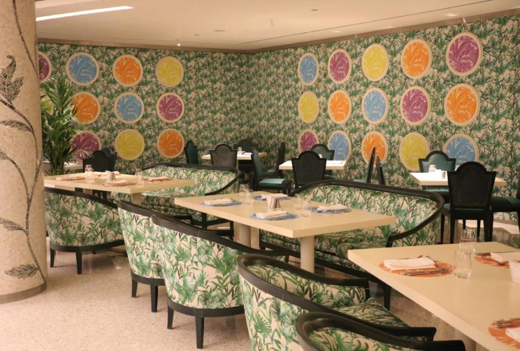 palazzo versace giardano brunch review