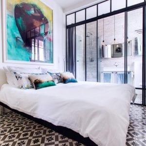 paris montmartre where to stay Romantic Artist Room Montmartre Bed & Breakfast blog
