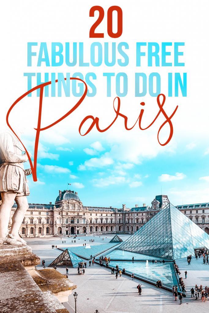 20 fabulous free things to do in Paris