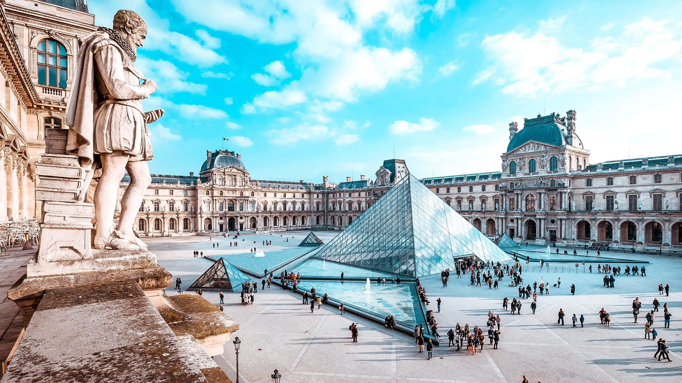 every first sunday of the month you can visit a lot of museums such as the louvre for free