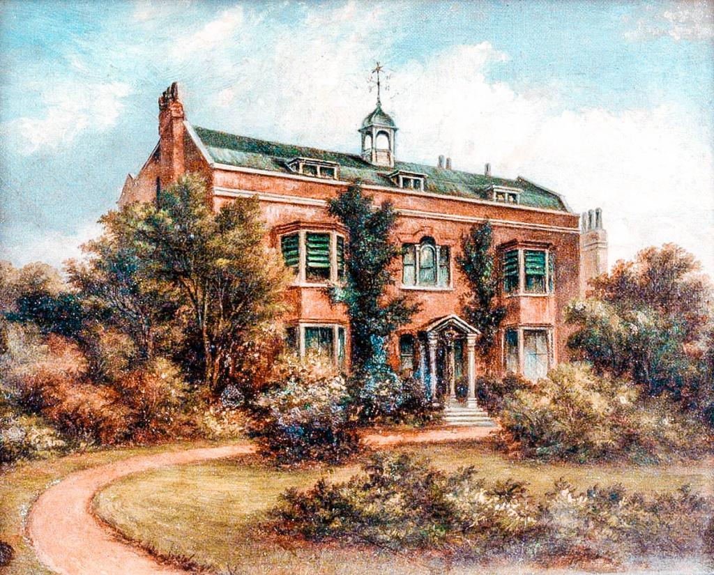 Williams, J.; Gad's Hill Place, near Rochester; Portsmouth Museums and Visitor Services; http://www.artuk.org/artworks/gads-hill-place-near-rochester-24211