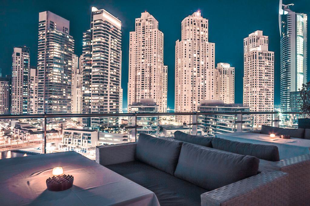 best rooftop bars dubai atelier M