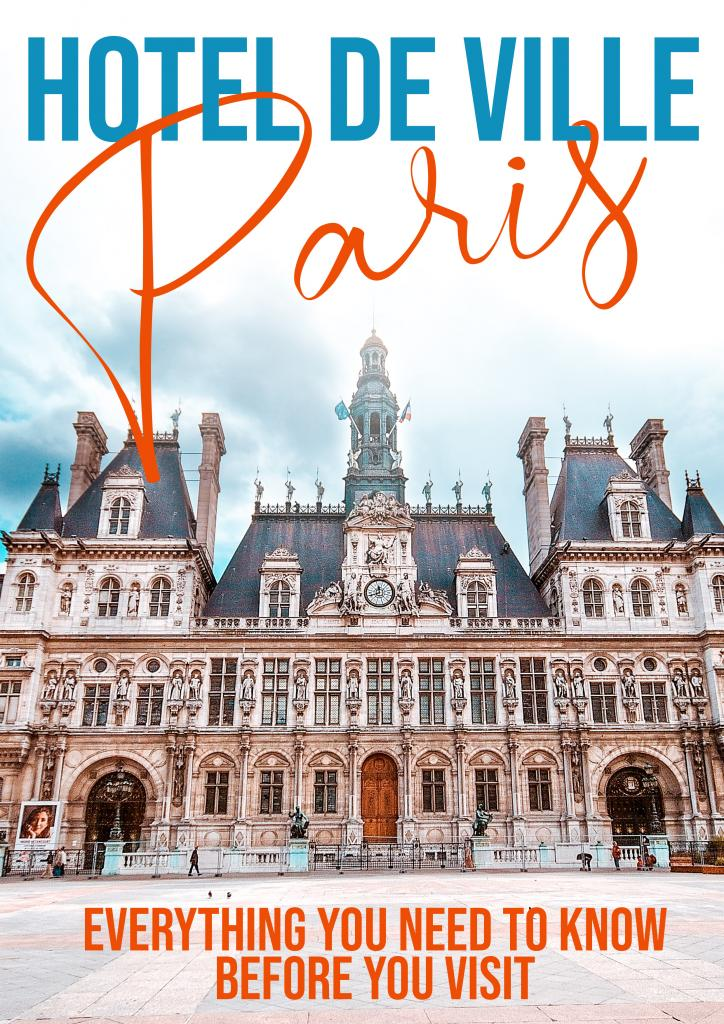 hotel de ville paris everything you need to know before you visit