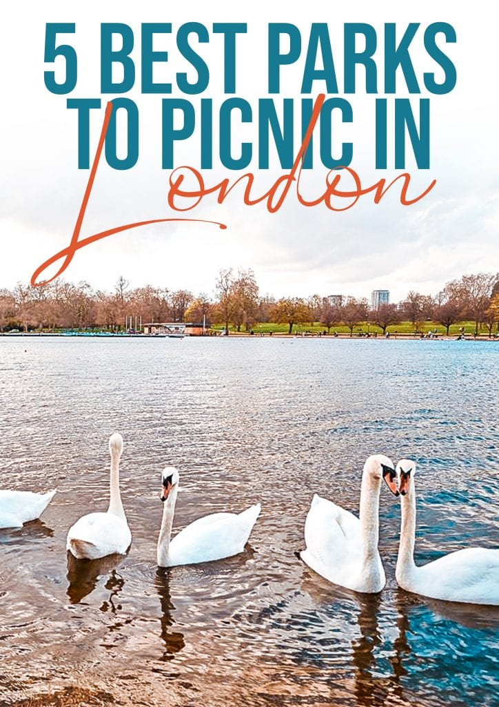 5 best parks to picnic in london