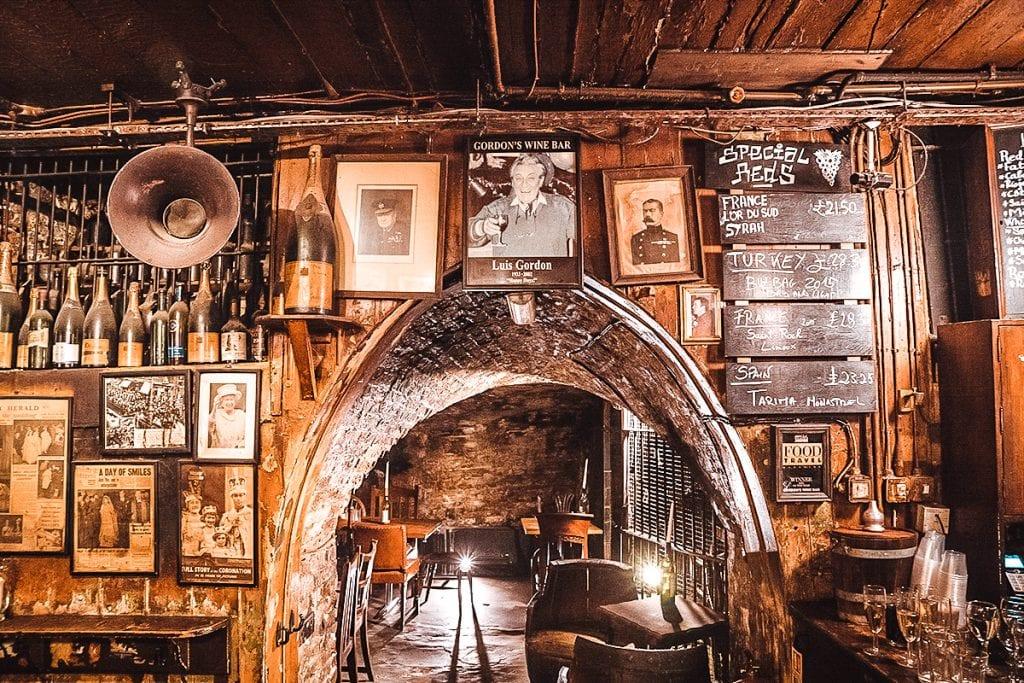 gordons wine bar london