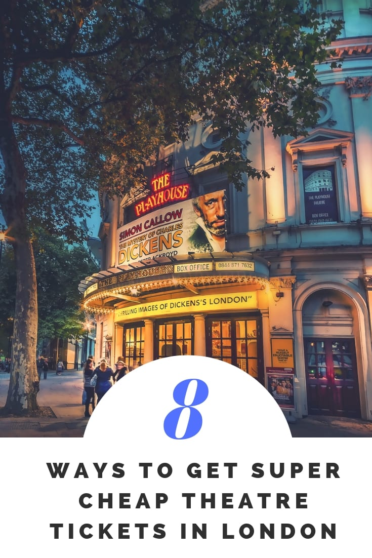 8 ways to get super cheap theatre tickets in london