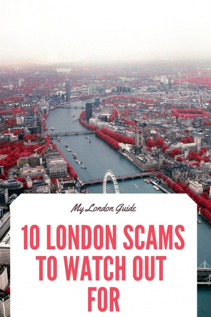 10 london scams to watch out for