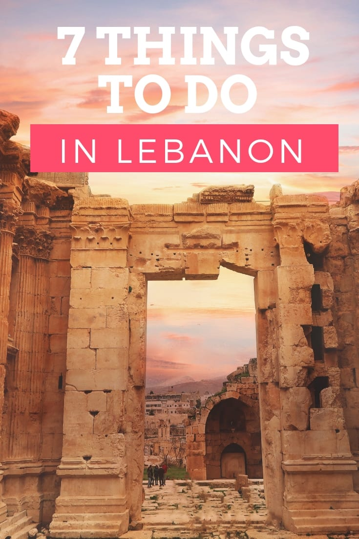 7 Things to do in lebanon