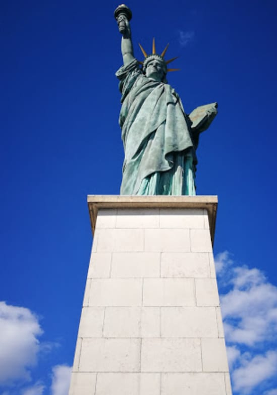 Statue of liberty paris bucket list to do