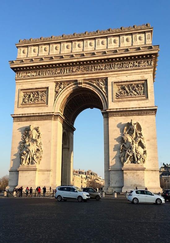arc de triomphe paris bucket list what to do