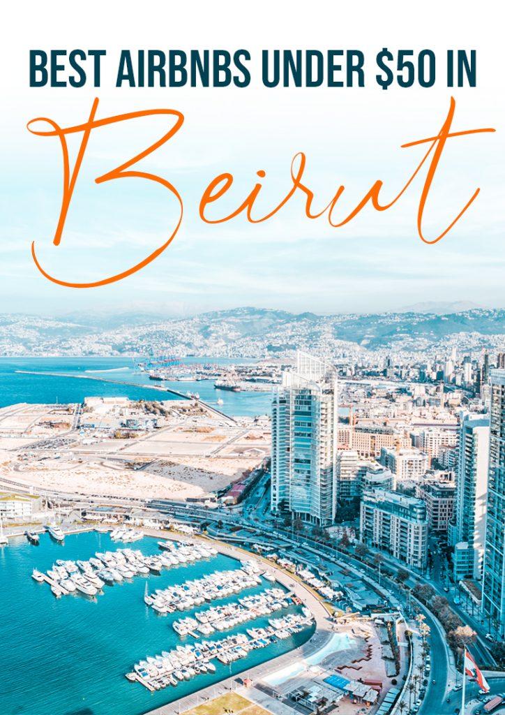 best cheap airbnbs under 50 in Beirut