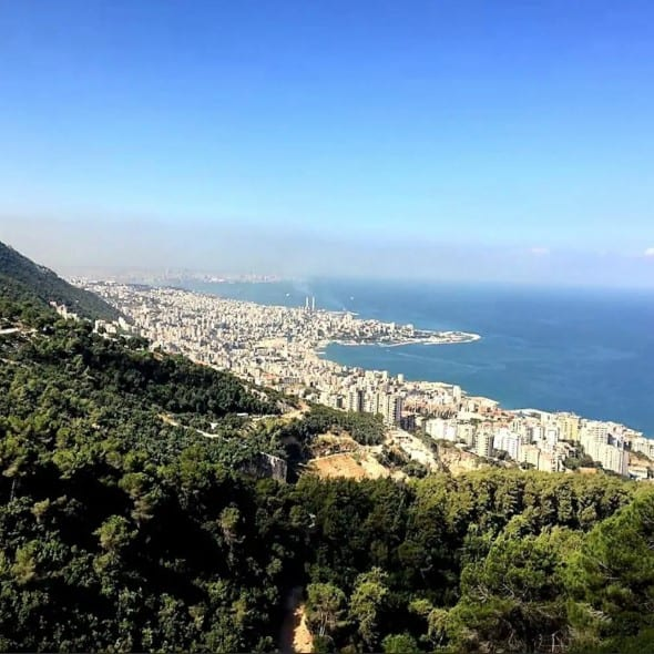 panoramic view beirut stay lebanon airbnb