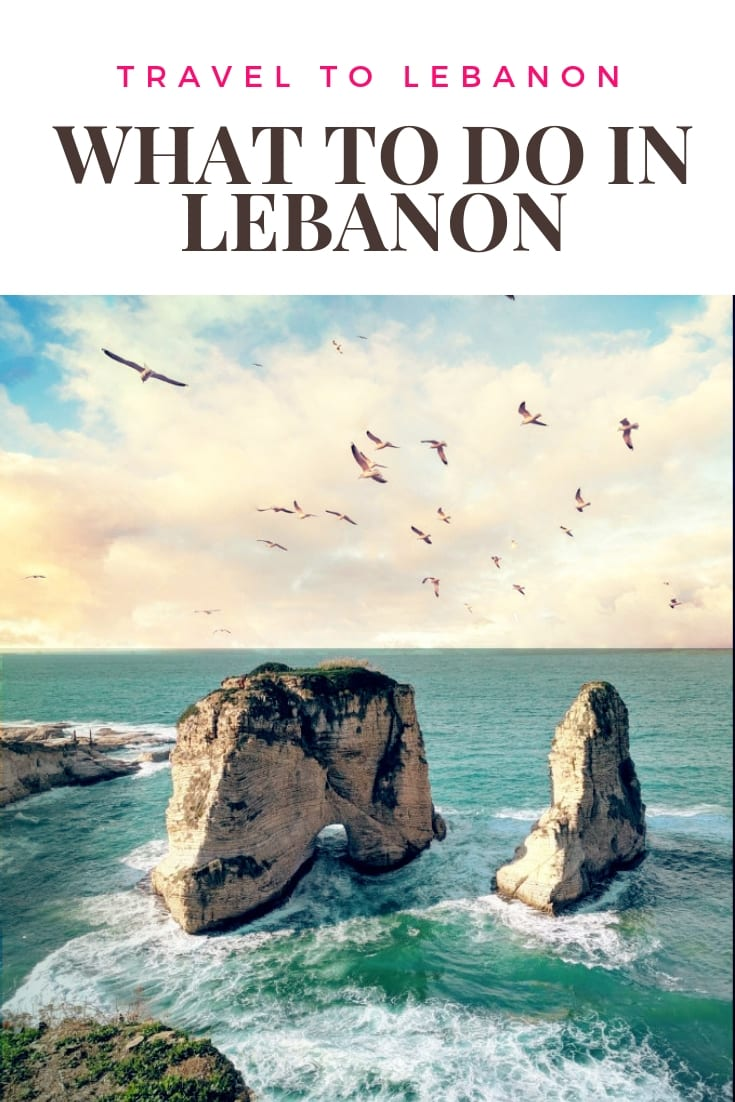 what to do in Lebanon