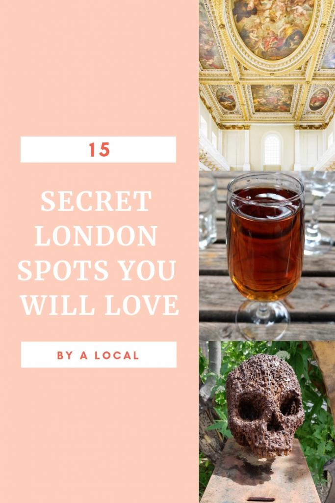 15 SECRET LONDON SPOTS YOU WILL LOVE