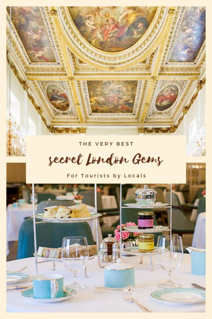 London gems for tourists by locals
